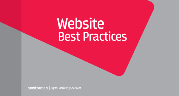 Website Best Practices - Bite Digital - Marketing Agency in Bangladesh
