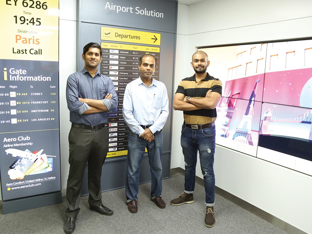 TRI Digital at LG Bangladesh Information Display Solution Center
